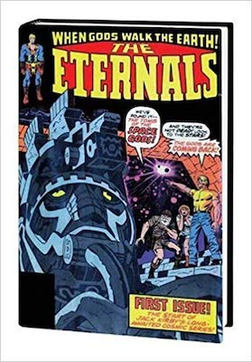 The Eternals Omnibus limited hardcover. Click to buy from Amazon