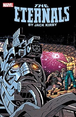 The Eternals Omnibus softcover volume 1. Click to buy from Amazon