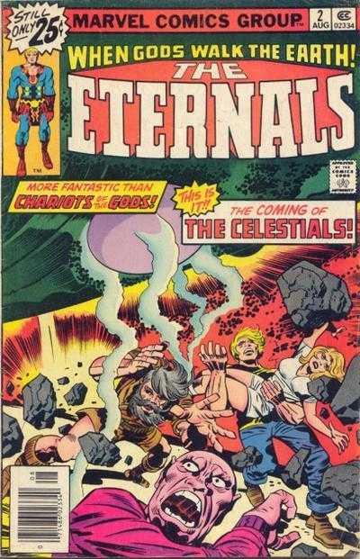 Origin and First Appearance, Ghaur, Eternals vol. 2, #2, Marvel Comics, 1985. Click for value