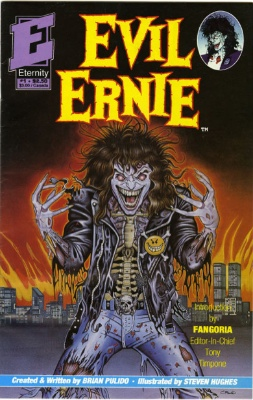 Origin and First Appearance, Lady Death, Evil Ernie #1, Eternity Comics, 1991. Click for value