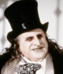 Danny Devito makes the Penguin his own in the dark Batman Returns movie