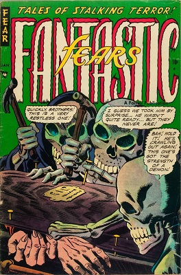 Fantastic Fears #5 (1964): First Steve Ditko art. Click for value