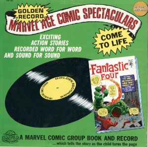The Golden Records reprint of Fantastic Four comic #1 is now collectible, especially in very fine shape