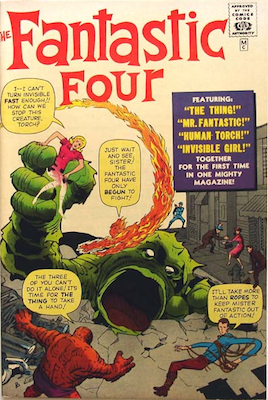 Fantastic Four #1 Golden Record Reprint from 1966. Click for value