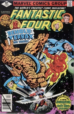 FF #211: Terrax Who? (The Next Star Lord or Groot?)