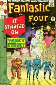 Fantastic Four #29 Silver Age comic book. Click for current values