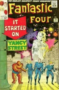 Fantastic Four: #7 most popular of Marvel Comics characters