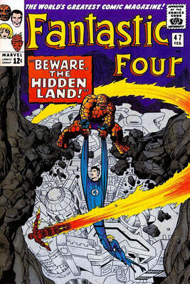 Origin and First Appearance, Maximus, Fantastic Four #47, Marvel Comics, 1966. Click for value