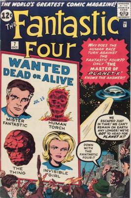 Fantastic Four #7: First appearance of Kurrgo. Click for values