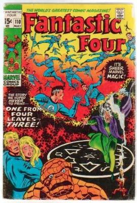 Fantastic Four #110 original. Click for values
