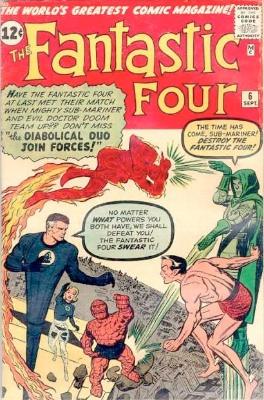 Fantastic Four #6: click for value