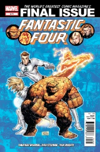 Fantastic Four #611 was the final issue, paving the way for the Marvel NOW! reboot. Click for value