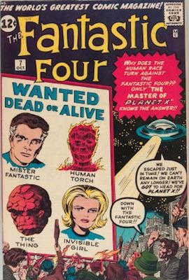 Fantastic Four #7: click for value
