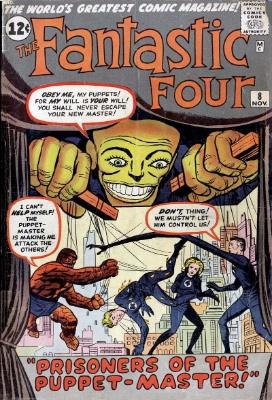 Fantastic Four #8: click for value