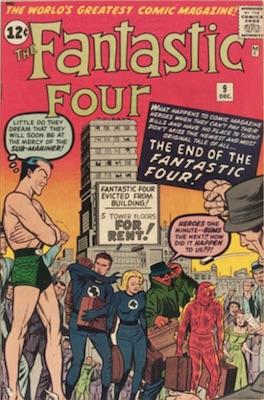Fantastic Four #9: click for value