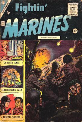 Fightin' Marines #17. Matt Baker cover. Click for values