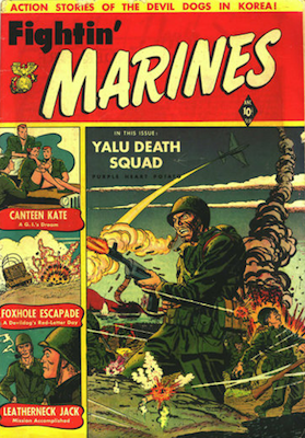 Fightin' Marines #2: Baker cover. Click for values