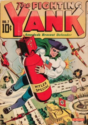 Fighting Yank Comics #7: First Appearance, the Grim Reaper. Click for values