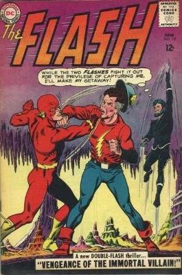 Flash #137: JSA Re-Emerge in the Silver Age. Click for values