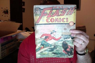 Flash Comics 10 Front