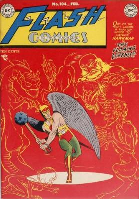 Origin and First Appearance, Rival Flash, Flash Comics #104, DC Comics, 1949. Click for value