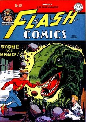 Flash Comics #86: Origin and First Appearance, Black Canary