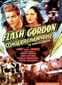 Flash Gordon serials were matinee fodder: 1940