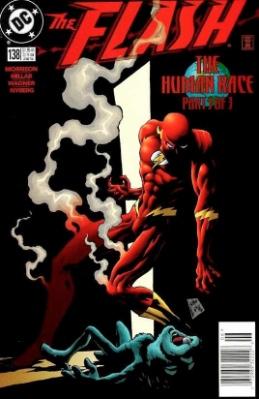 Origin and First Appearance, Black Flash, Flash Vol 2, #138, DC Comics, 1998. Click for value