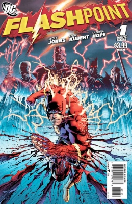 Flashpoint, 2011 by DC. Click for values