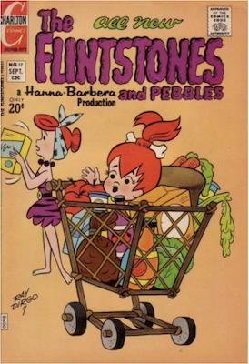The Flintstones and Pebbles #17. Click for values.