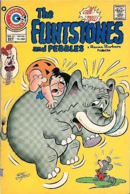 The Flintstones and Pebbles #33. Click for values.