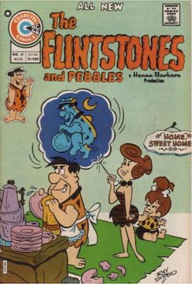 The Flintstones and Pebbles #39. Click for values.