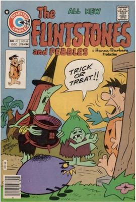 The Flintstones and Pebbles #42. Click for values.