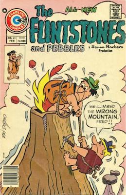 The Flintstones and Pebbles #43. Click for values.
