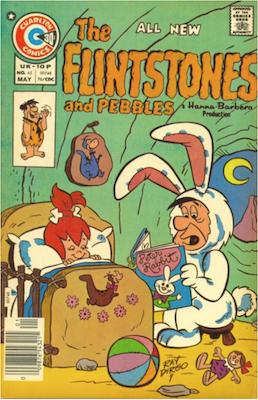 The Flintstones and Pebbles #45. Click for values.
