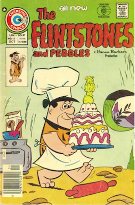 The Flintstones and Pebbles #48. Click for values.