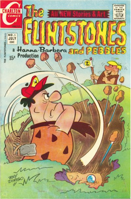 The Flintstones and Pebbles #5. Click for values.