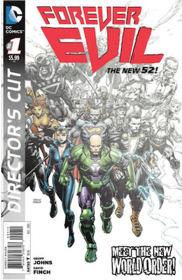 Forever Evil #1 (2013). Click for values.