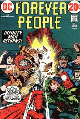 Origin and First Appearance, Devilance, Forever People #11, DC Comics, 1972. Click for value