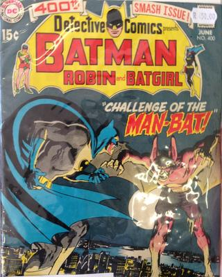 Detective Comics #400 Value? You'll need to open it for sure...