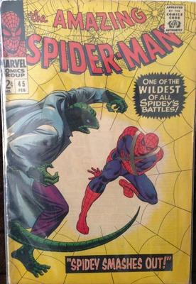Amazing Spider-Man #45 Value: Looks in nice shape, but check out the interior