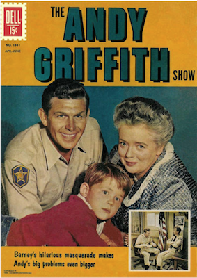 Four Color #1341 : The Andy Griffith Show. Click for values.