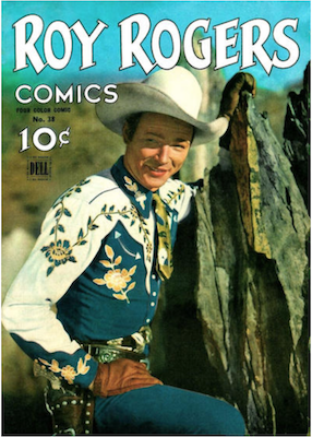 Four Color #38: Roy Rogers (#1). Click for values.