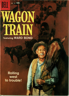 Wagon Train: Four Color #895. Click for values