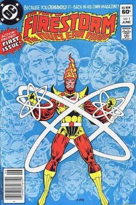 Thinker (Cliff Carmichael): First Appearance, Firestorm #1. Click for value
