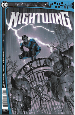 Future State: Nightwing #1 (2021). Click for values.
