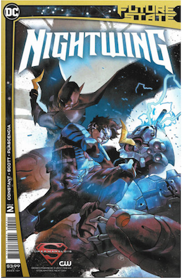 Future State: Nightwing #2. Click for values.