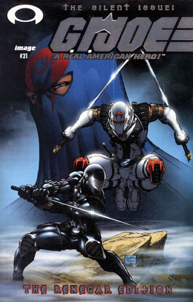 #87: G. I. Joe 21 Silver Foil Variant (Renegar Edition), Turner (2003). Click for values