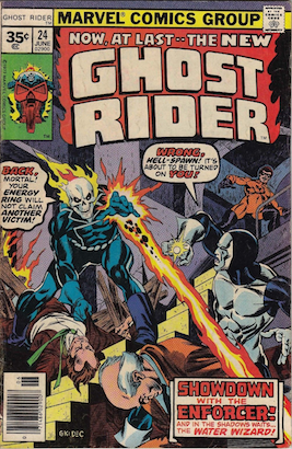 Ghost Rider #24 35 Cent Variant Edition