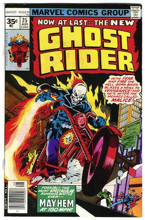 Ghost Rider #25 Marvel 35 Cent Variant Edition